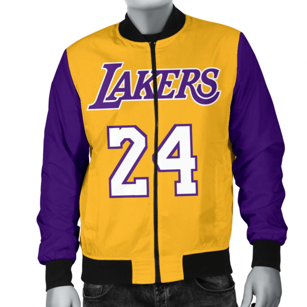 Kobes Bryant Leather Jacket