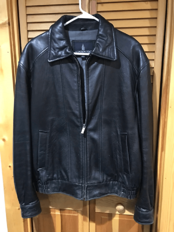 London Fog Leather Jacket