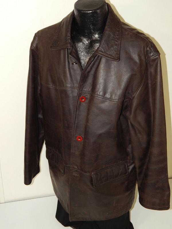 Oiled Leather Jacket
