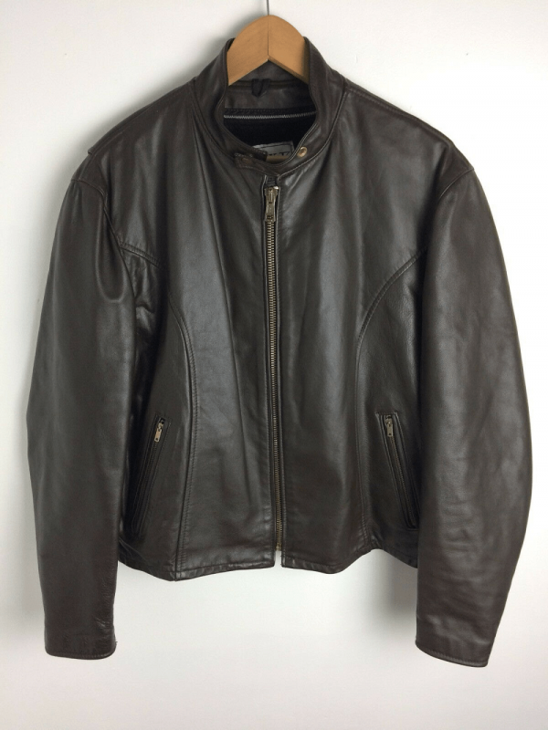 Park V Leather Jacket