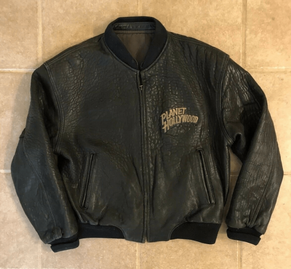 Planet Hollywoods Leather Jacket
