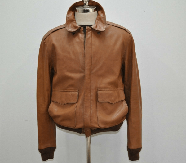 Polo Lambskin Leather Jacket