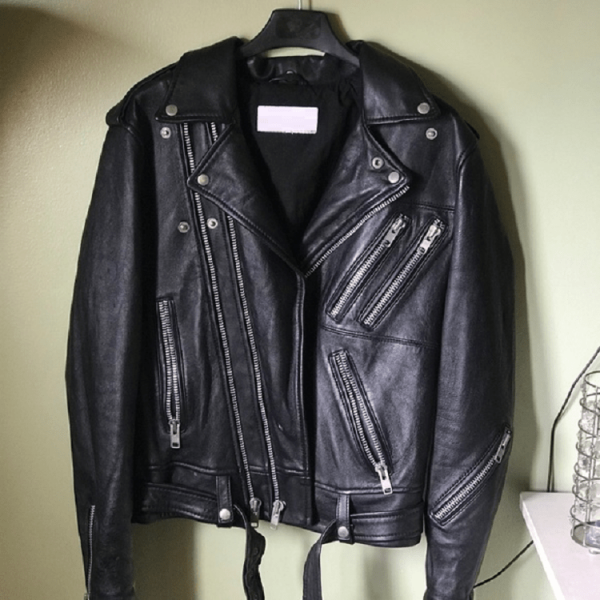 Saint Laurent Paris Leather Jacket