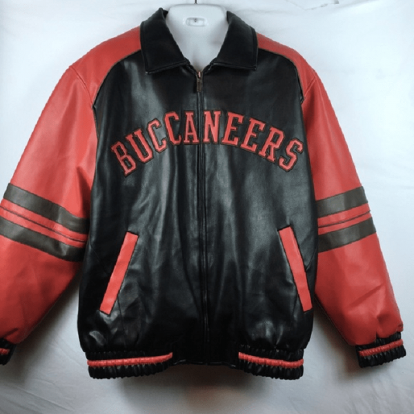 Tampa Bay Buccaneers Leather Jacket