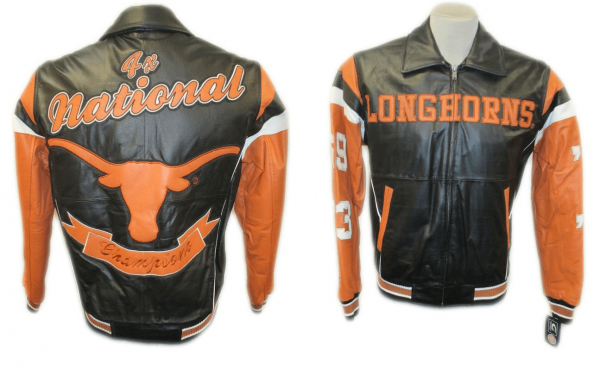 Texas Longhorn Leather Jacketss