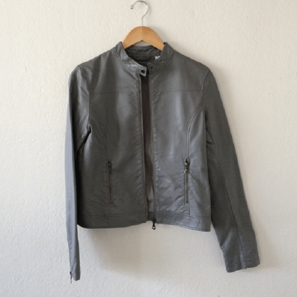 Uniqlo Faux Leather Jacket