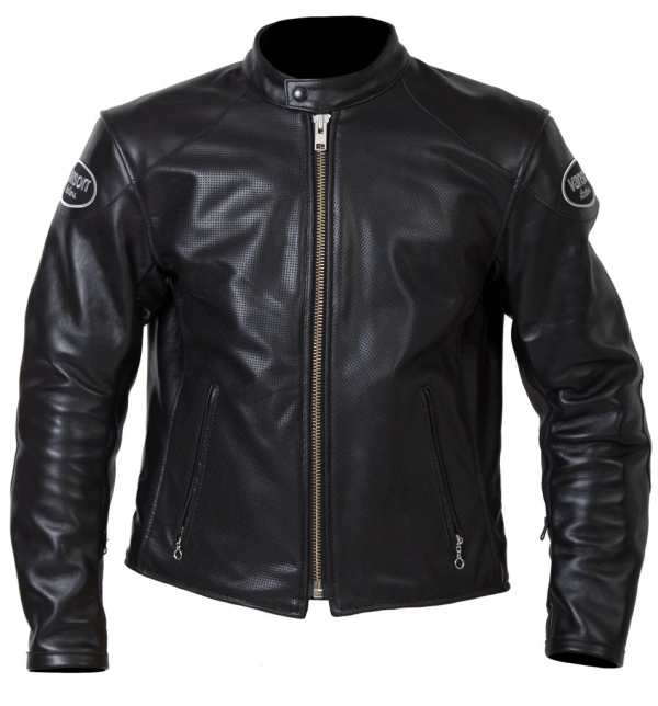 Vanson Perforated Leather Jacket