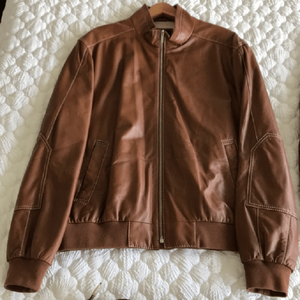 Faconnables Leather Jacket