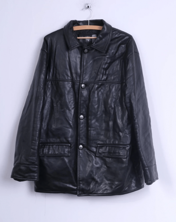 Gv Leather Jacket Made In Italy
