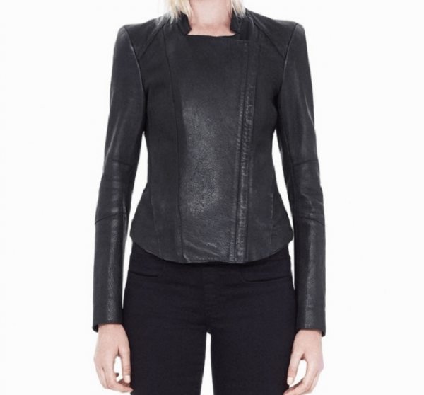 Helmut Lang Padded Leather Jacket