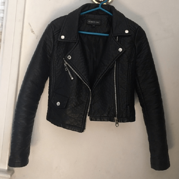 Members Onlys Leather Jacket Urban Outfitters