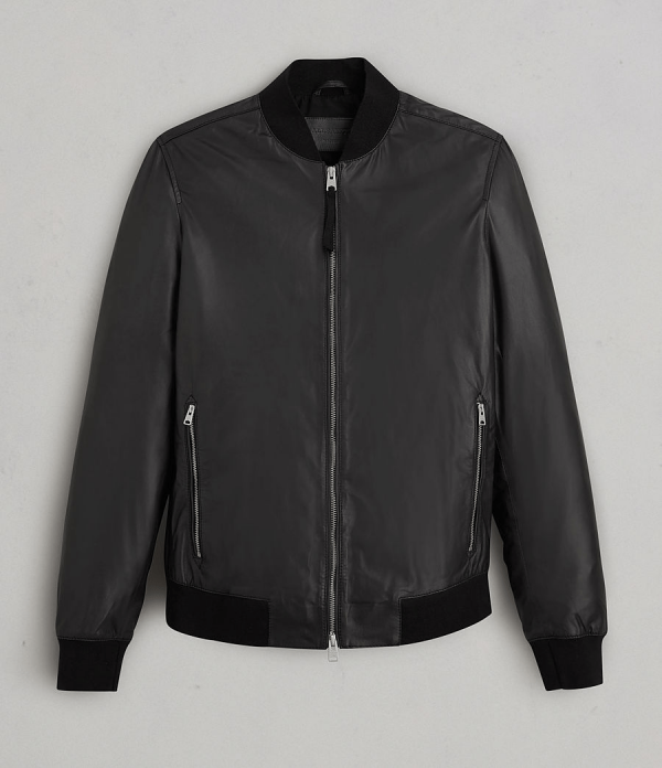 Mens All Saints Leather Jackets