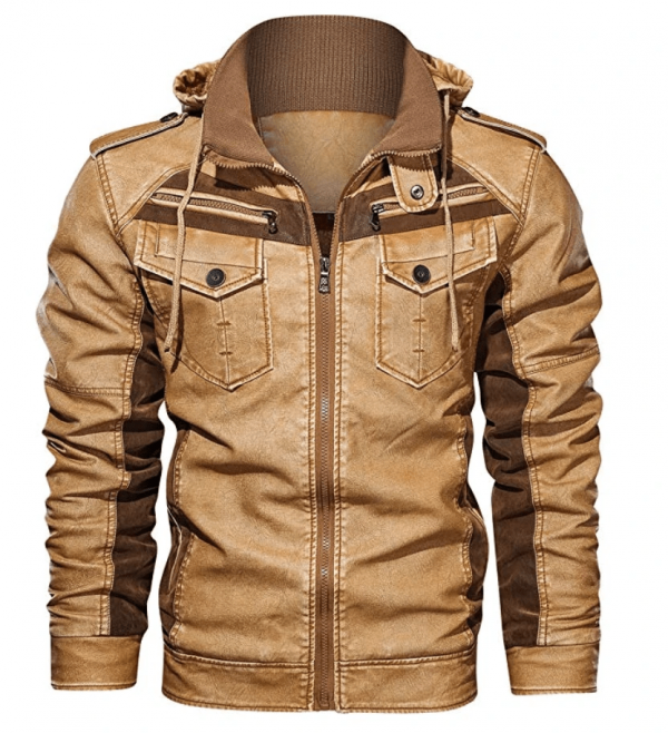 Stafford Leather Jacket