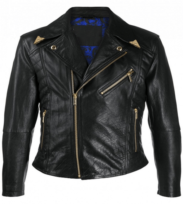 Versace Jeans Couture Leather Jacket