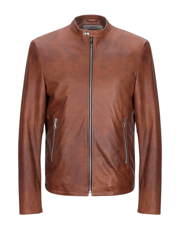 Vintage De Luxe Leather Jacket