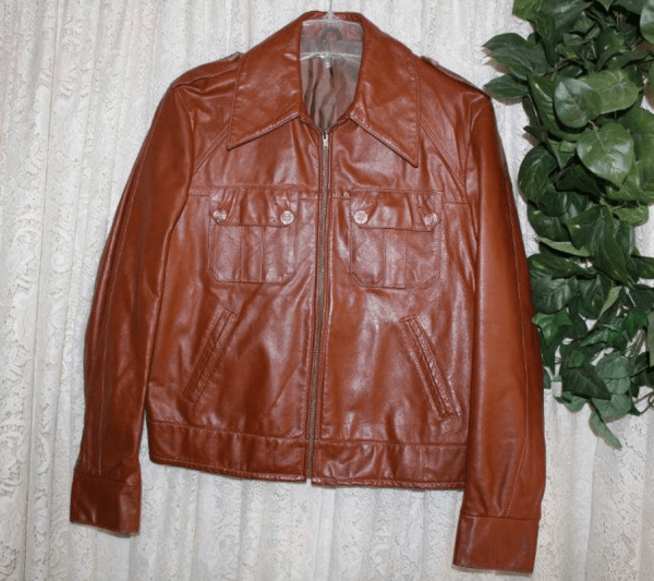 60s Leather Jacket