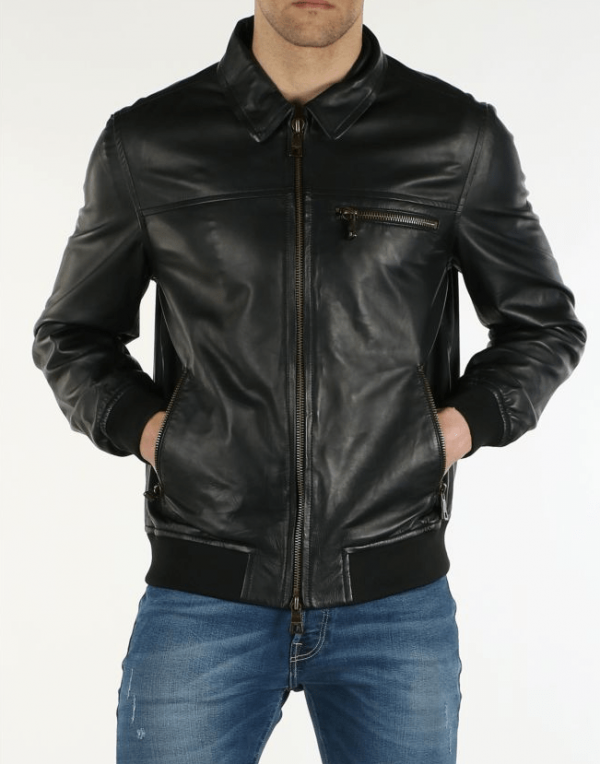Guess Marciano Leather Jacket