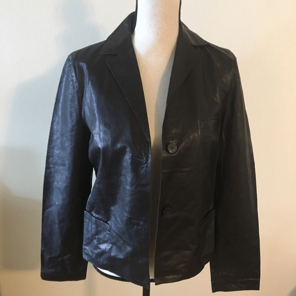 Jil Sander Leather Jacket