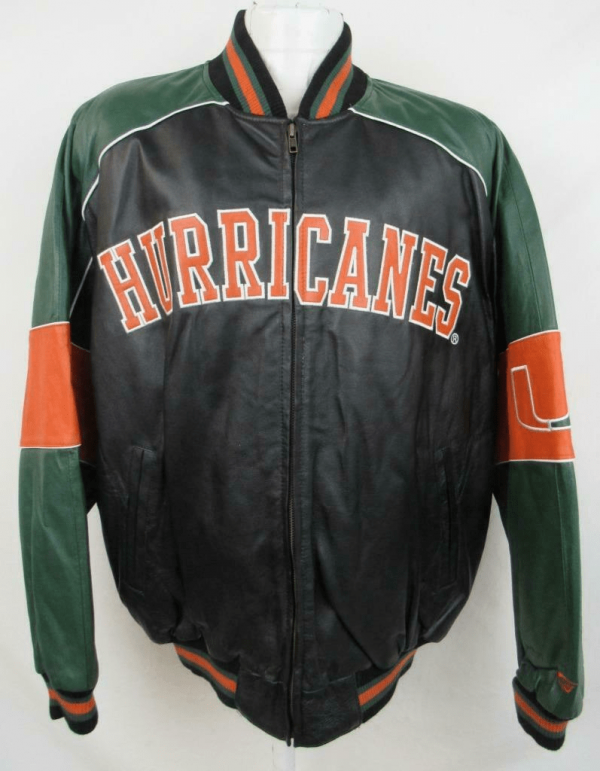 Miami Hurricanes Leather Jacket