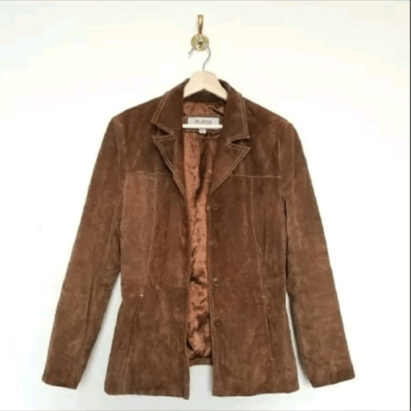 Wilsons Suede And Leather Jacket