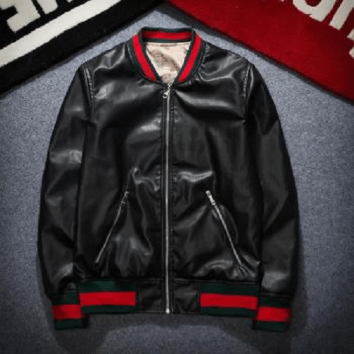Hip Hop Leather Jacket