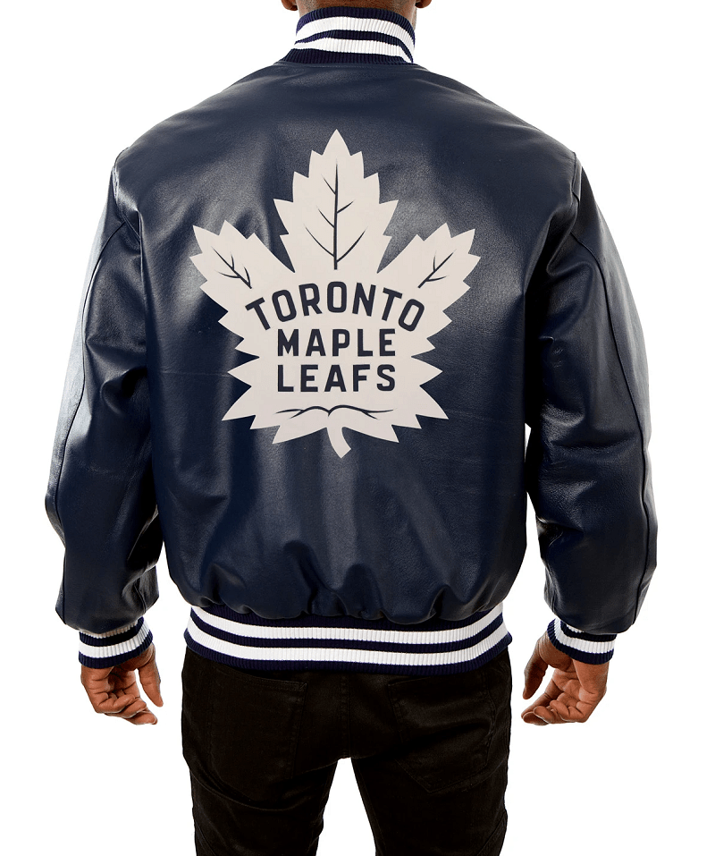Toronto Maple Leafs Leather Jacket Right Jackets