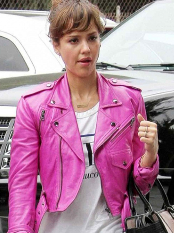 Hot Pink Leather Jackets