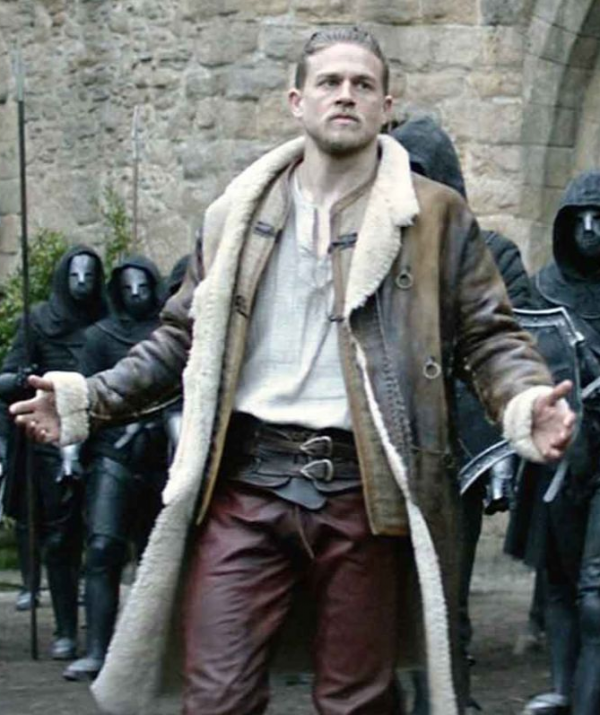 King Arthur Leather Coat