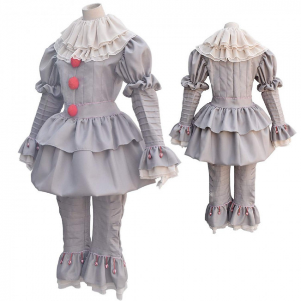 Pennywise It Clown Cosplay Costumes