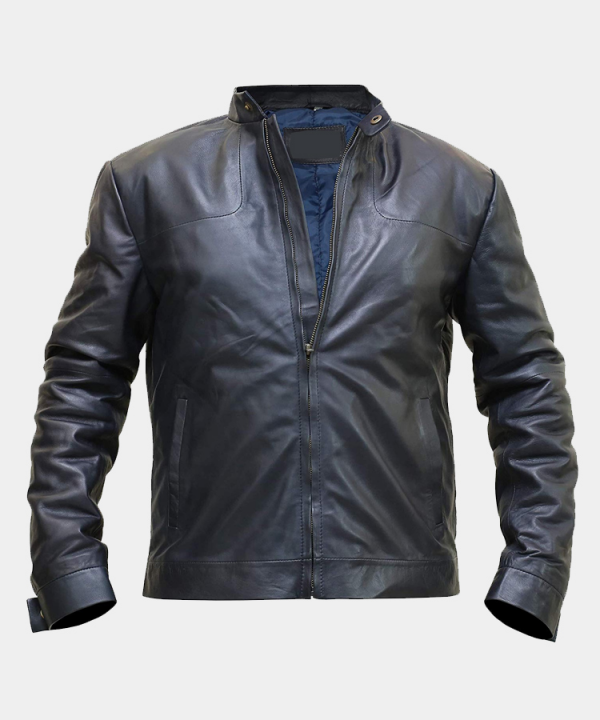 Tom Cruise Black Leather Jacket