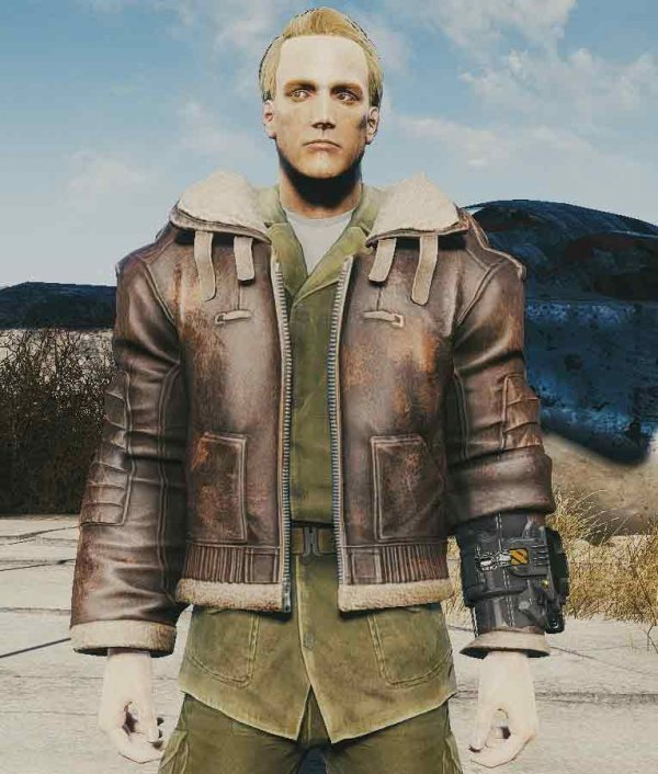 Bomber Leather Jacket Fallout 4
