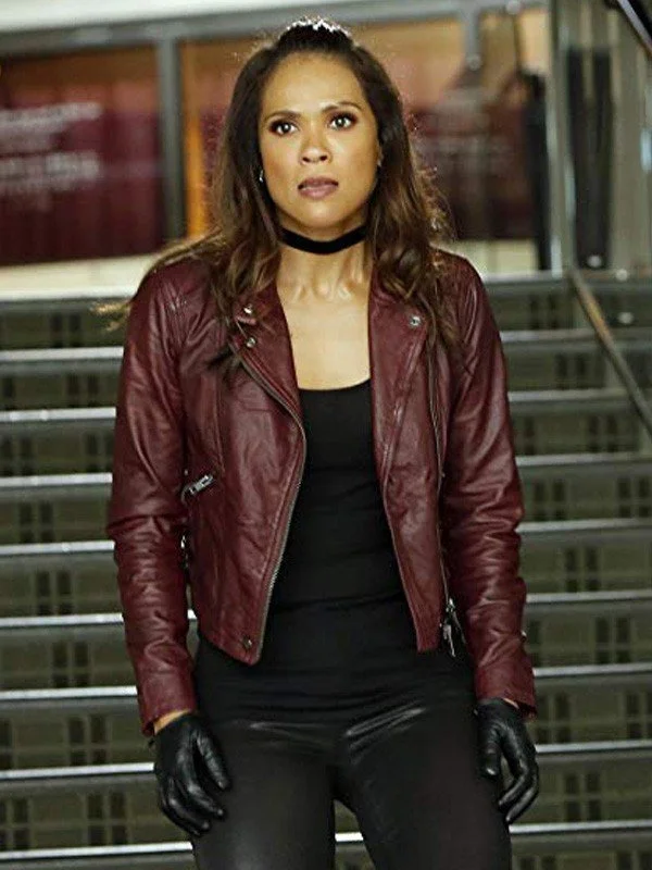 Lesley-ann Mazikeens Lucifer Leather Jacket