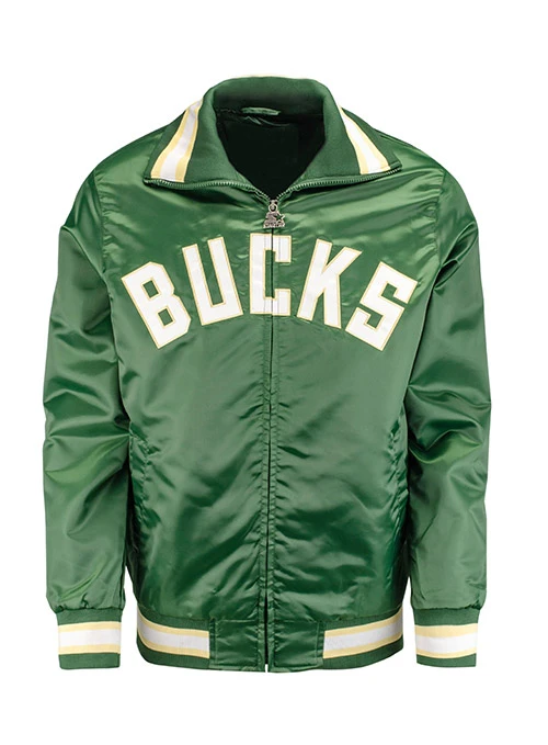 Starter Captain Milwaukee Bucks Jacket
