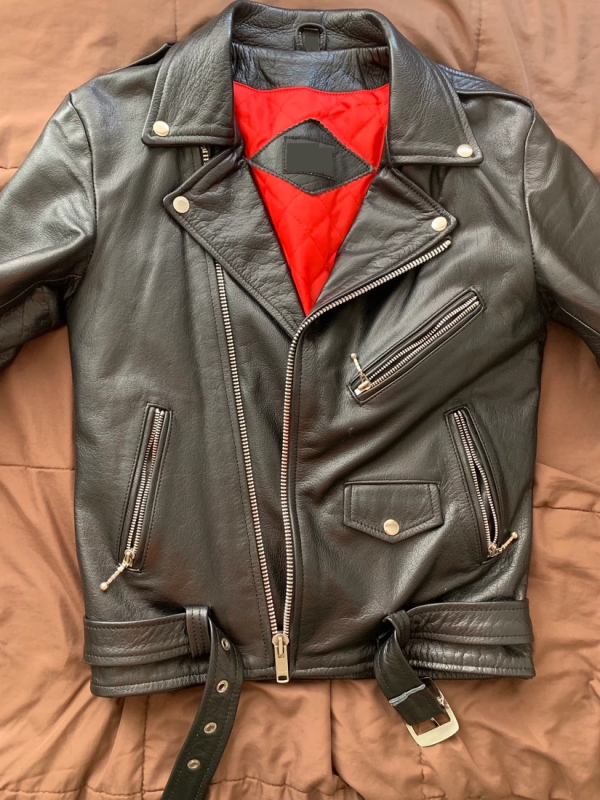 Straight To Hells Leather Jacket