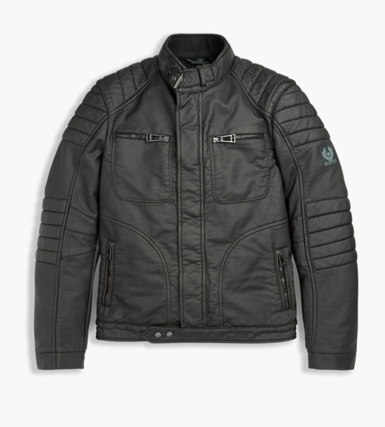 Malcolm Merlyns Leather Jacket