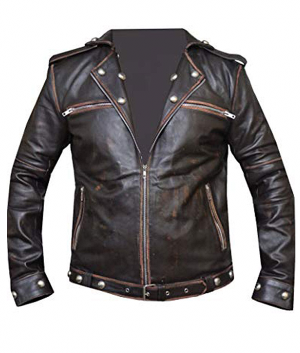 Tunnel Snakes Leather Jacket