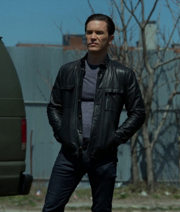 Iron Fist Ward Meachum Leather Jacket