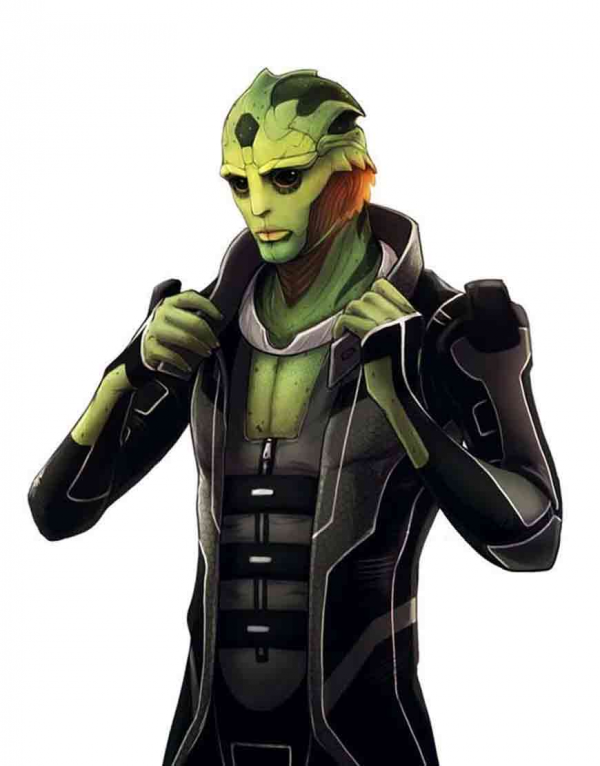 Mass Effects Thane Krios Jacket
