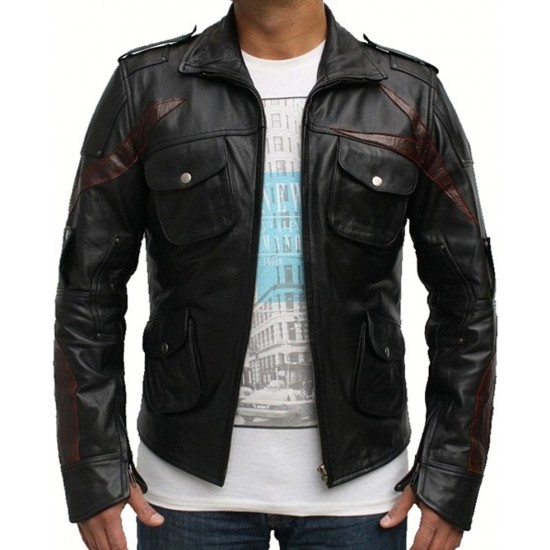 Prototype 2 Video Game James Heller Leather Jacket