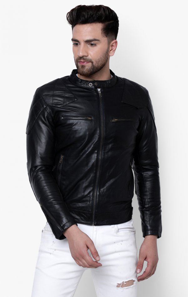 Superdry City Hero Racer Leather Jacket