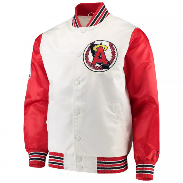 White Los Angeles Angels The Legend Jacket