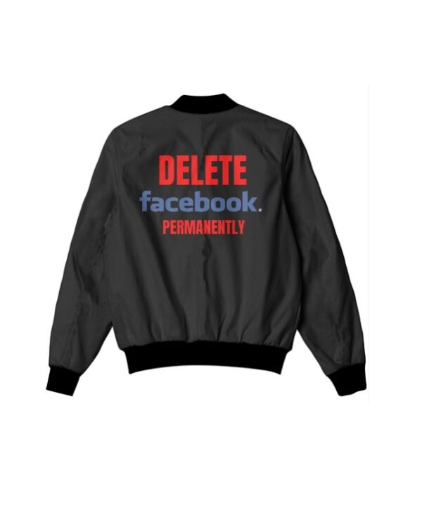 Delete Facebook Shirt and Jackets