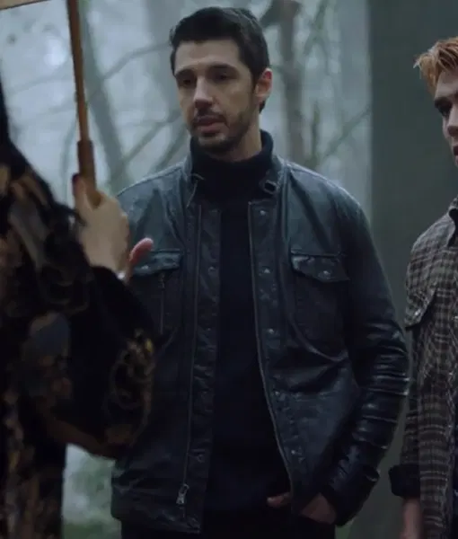 Riverdale Stephan Miers Leather Jacket