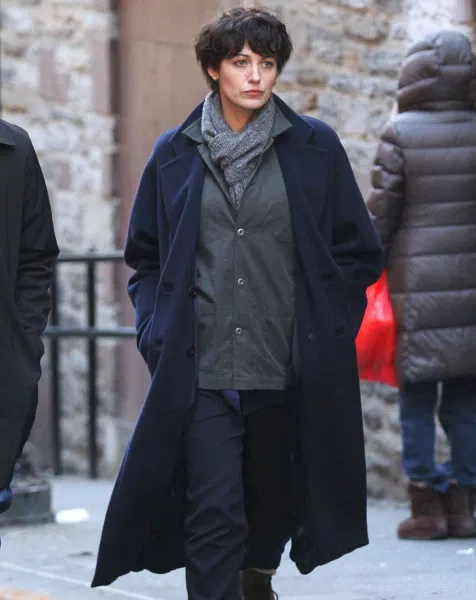 The Rhythm Section Blake Lively Trench Wool Coat