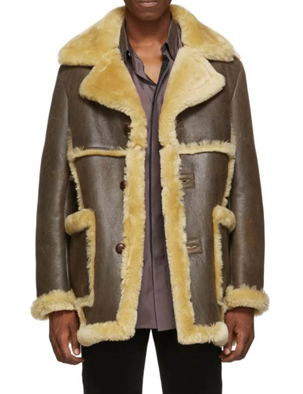 FIT Exclusive Shearling Leather Jacket