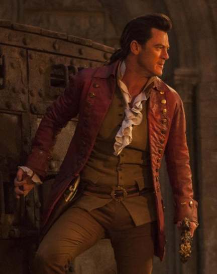 Luke Evans Beauty And The Beast Leathers Coat
