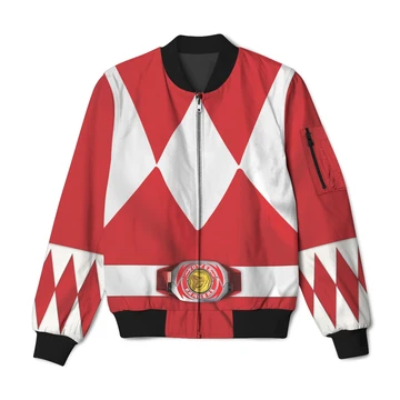 Mighty Morphin Power Rangers Red Ranger Bomber Jacket