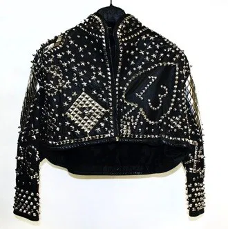 Own Kelly Lebrock's Weird Science Leather Jacket