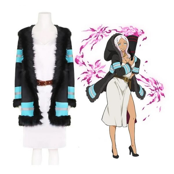 Poetics Walk Enn No Shouboutai Princess Hibana Fire Force Coat