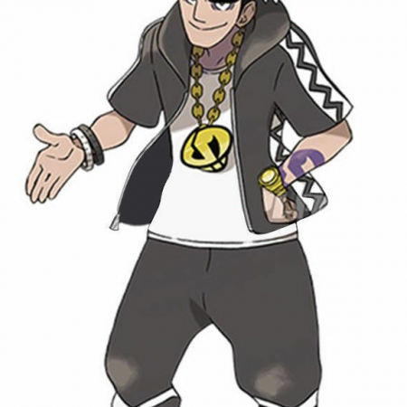 Pokémon Sun Moon Cosplay Guzma Jacket